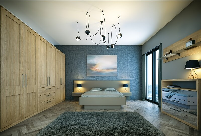 Bedroom Design Mottingham, South East London-BELLA TORTONA NATURAL OAK