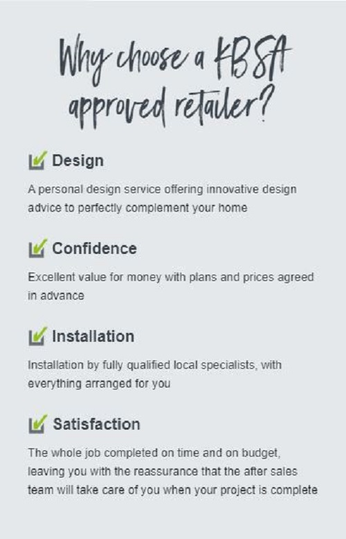 Kitchen Design Mottingham-Why choose a KBSA approved retailer.
